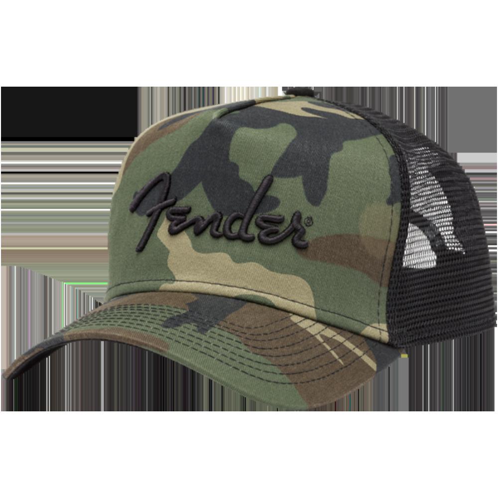 Fender Camo Snapback Hat