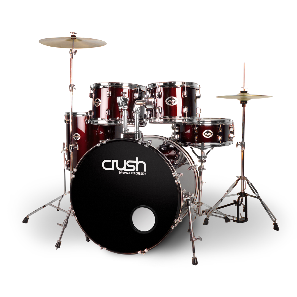 Crush Drums Alpha AL528903 Wine Red
