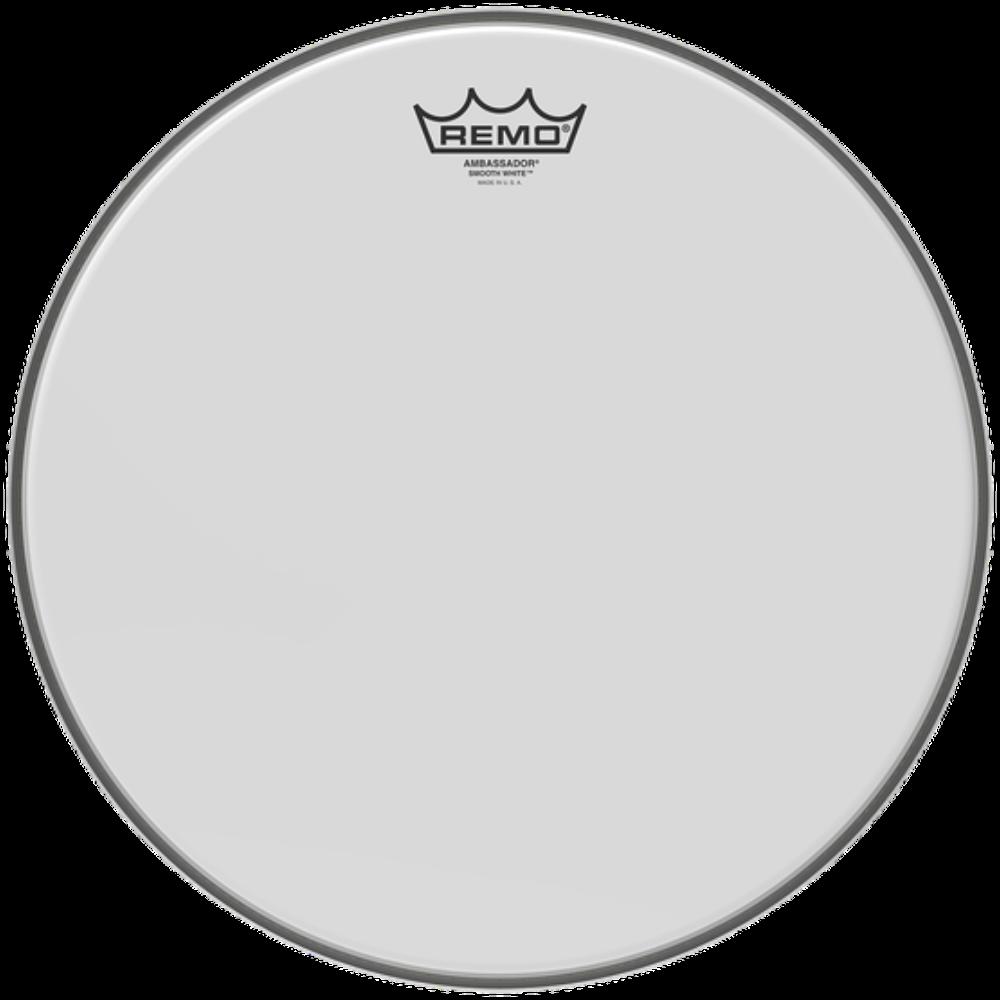 Remo Ambassador Smooth White Drumheads