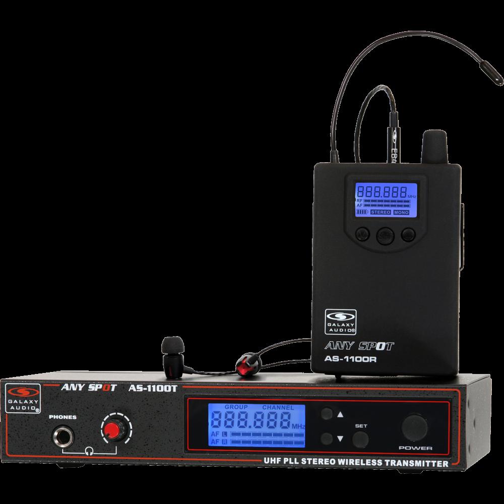 Galaxy Audio ANY SPOT Wireless Stereo Personal Monitor