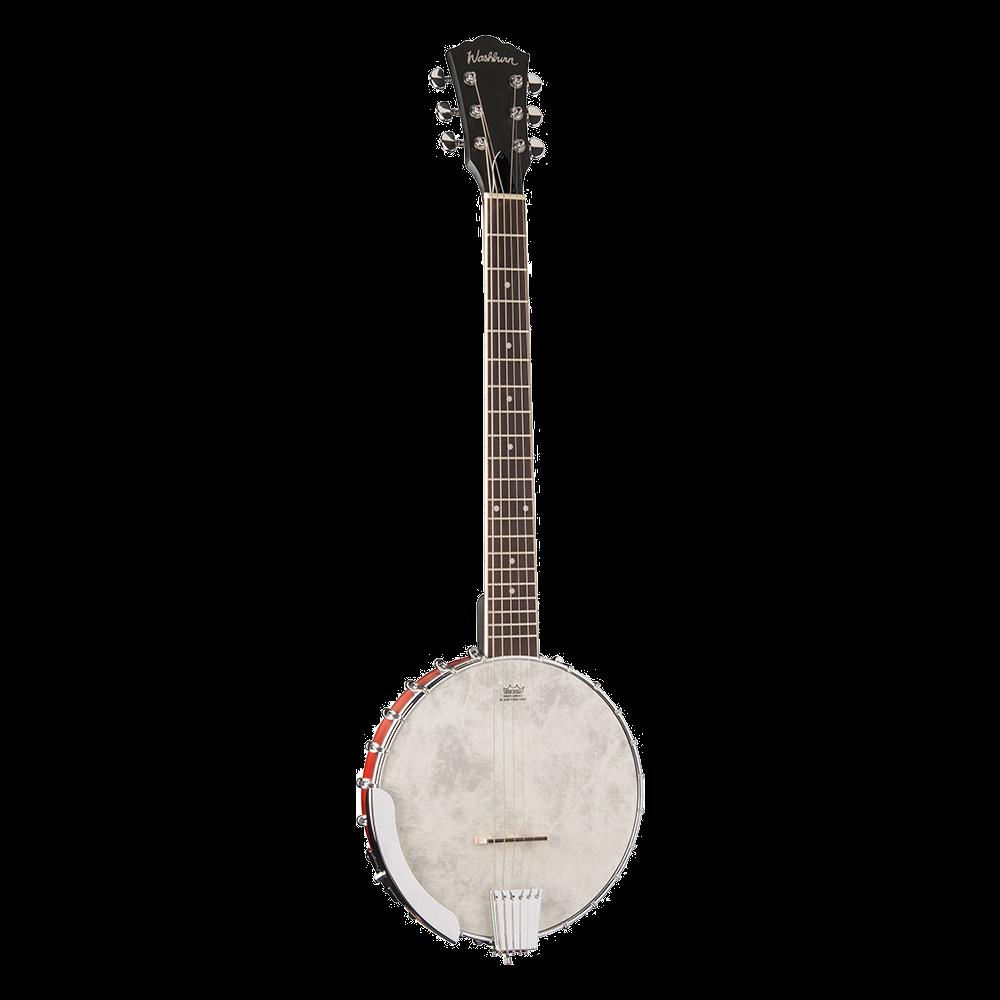 Washburn B6 Six-String Banjo