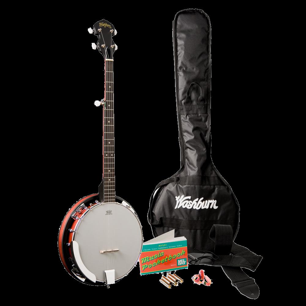 Washburn B8K Banjo Pack