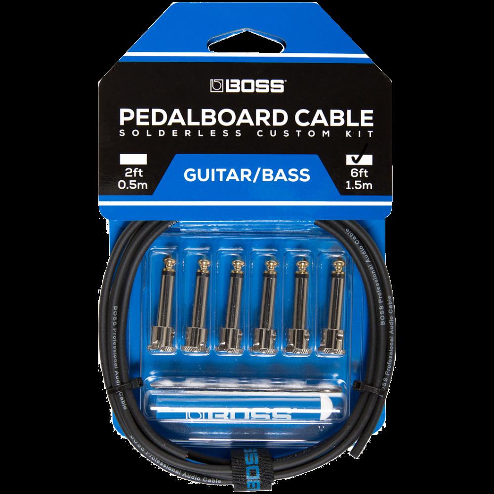 BOSS BCK-6 Solderless Pedalboard Cable Kit 6'