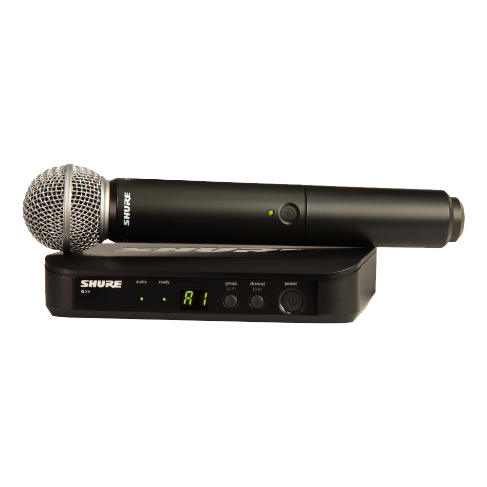 Shure BLX24/SM58 Wireless Microphone System