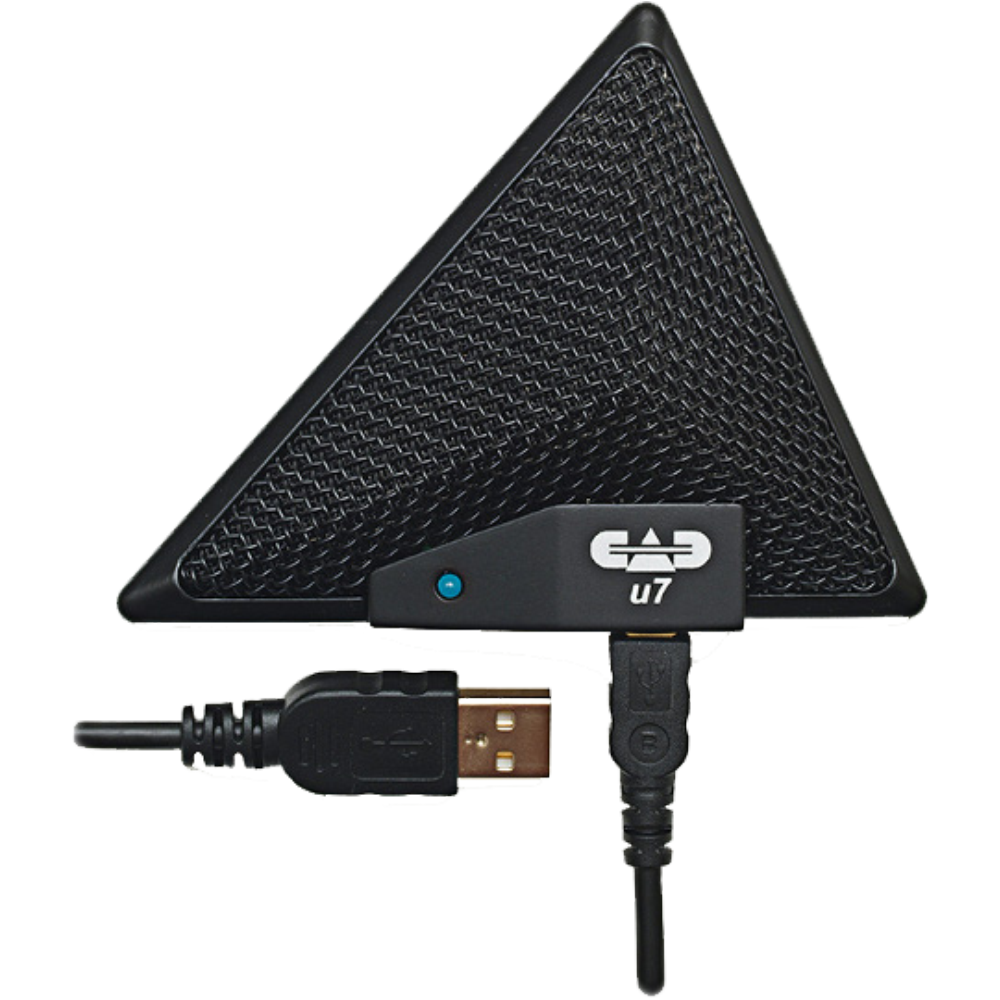 CAD U7 USB Boundary Omnidirectional Condenser Mic