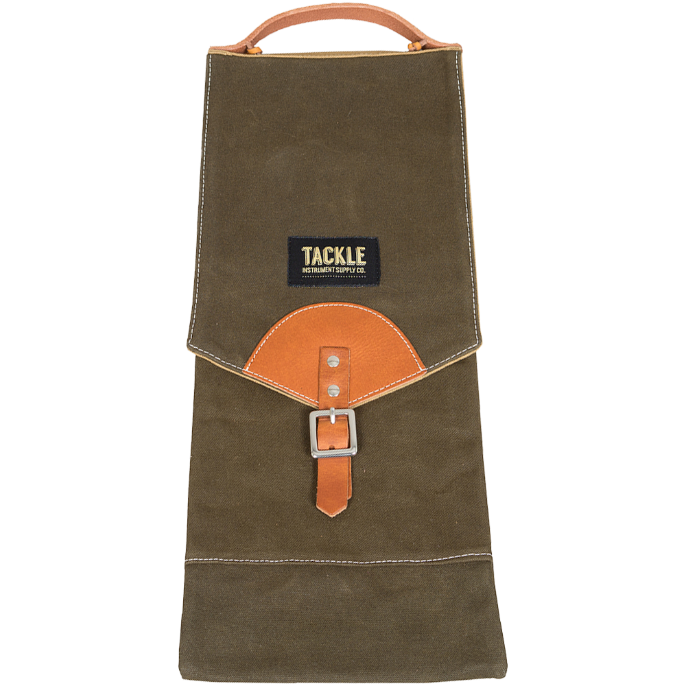 Tackle Waxed Canvas Compact Drum Stick Bag