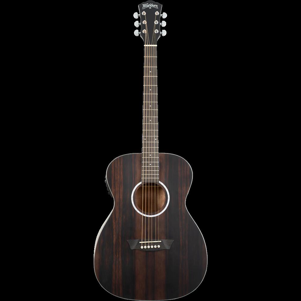 Washburn Deep Forest Ebony FE Acoustic Guitar