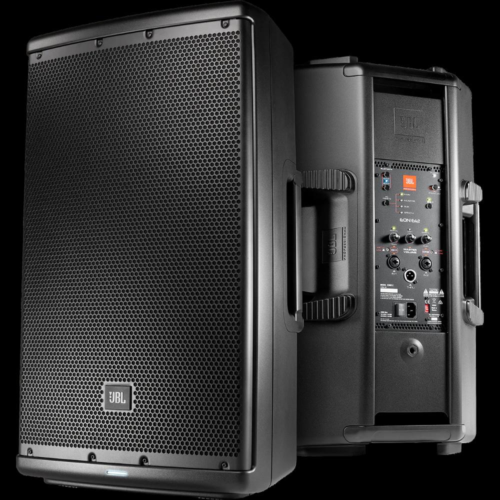 JBL EON612 12 Two-Way Multipurpose Self-Powered Sound Reinforcement