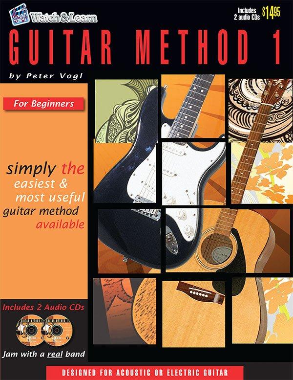 Watch & Learn Guitar Method 1 Book
