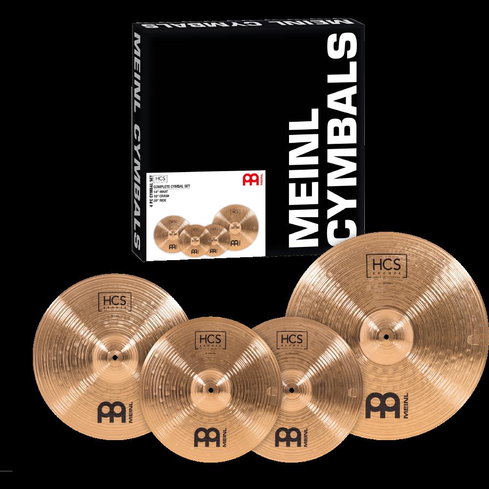 Meinl HCS Bronze Cymbal Sets
