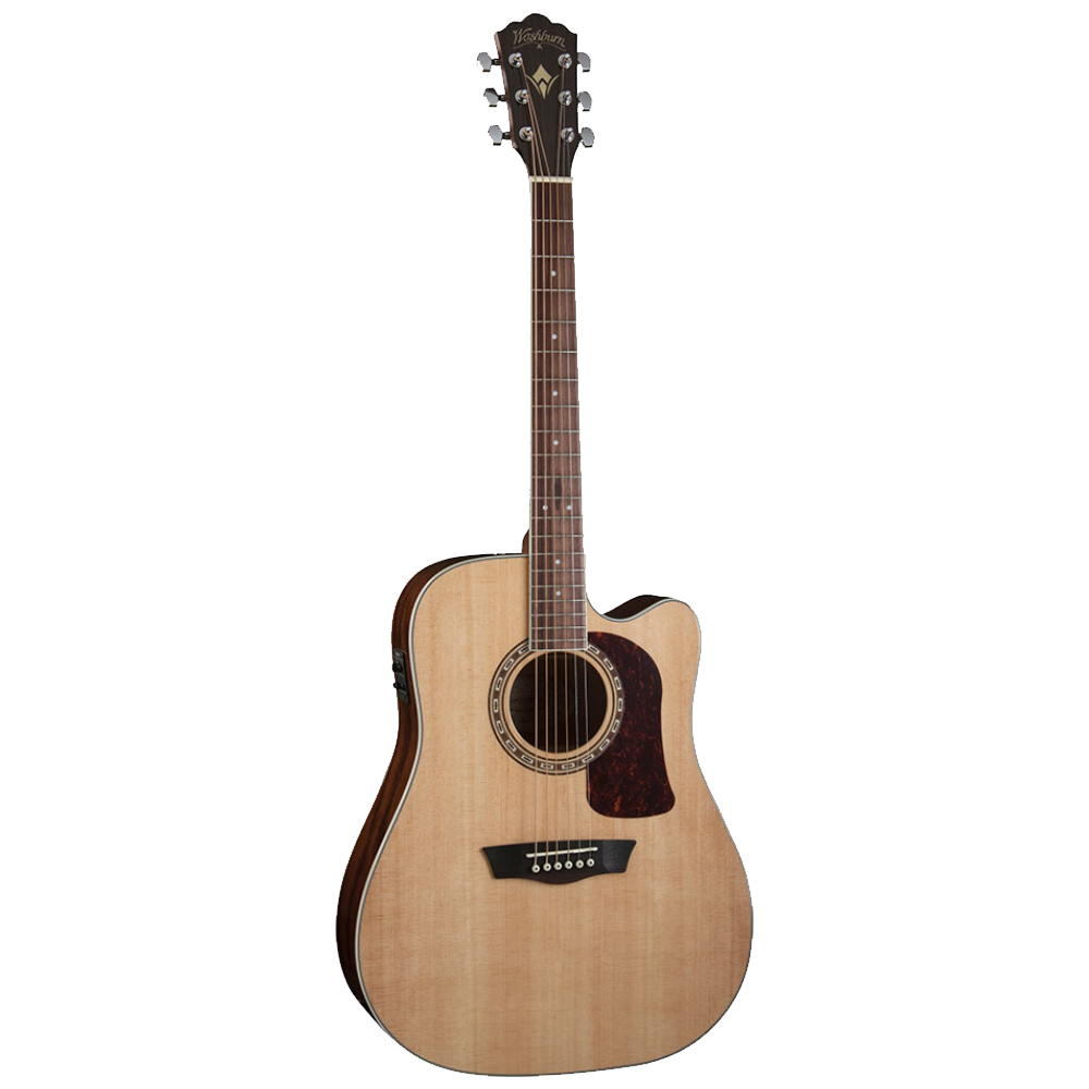 Washburn Heritage D10SCE Cutaway Acoustic/Electric Guitar