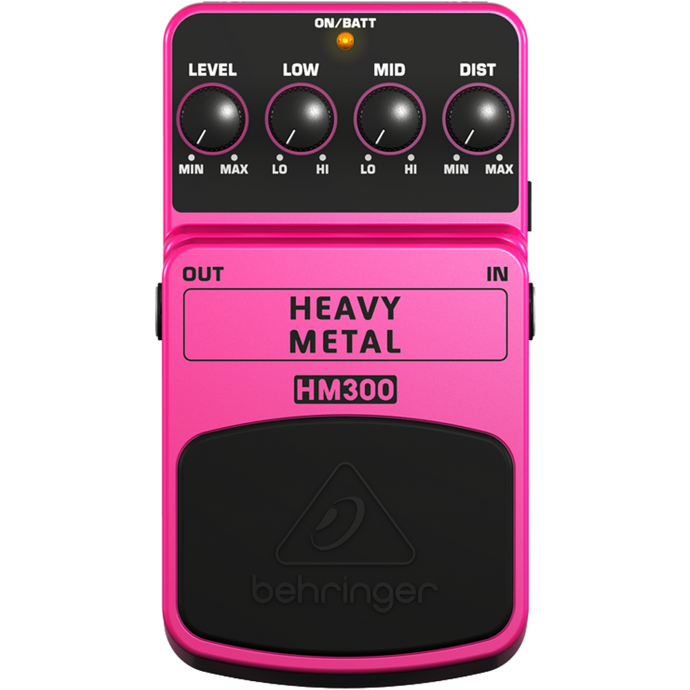 Behringer HM300 Heavy Metal Distortion Effects Pedal
