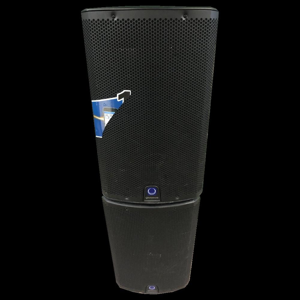 Turbosound iX12 1000 Watt 2 Way 12 Powered Loudspeaker - USED