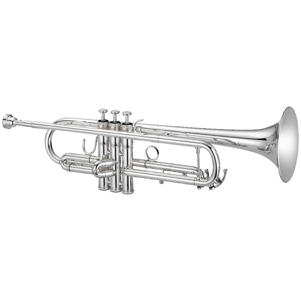 Jupiter Trumpet Silver Plated Brass 1100 Intermediate Series