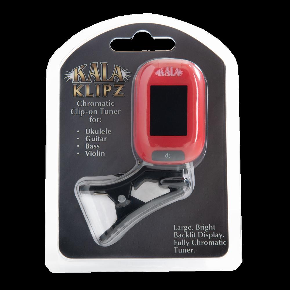 Kala KK-RD Klipz Clip On Tuner - Red