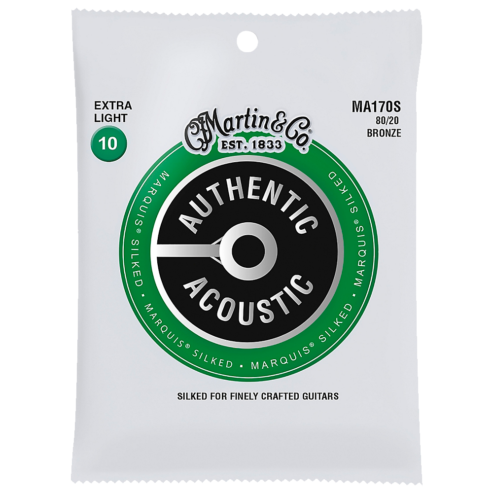 Martin Authentic Acoustic Marquis Silked Strings