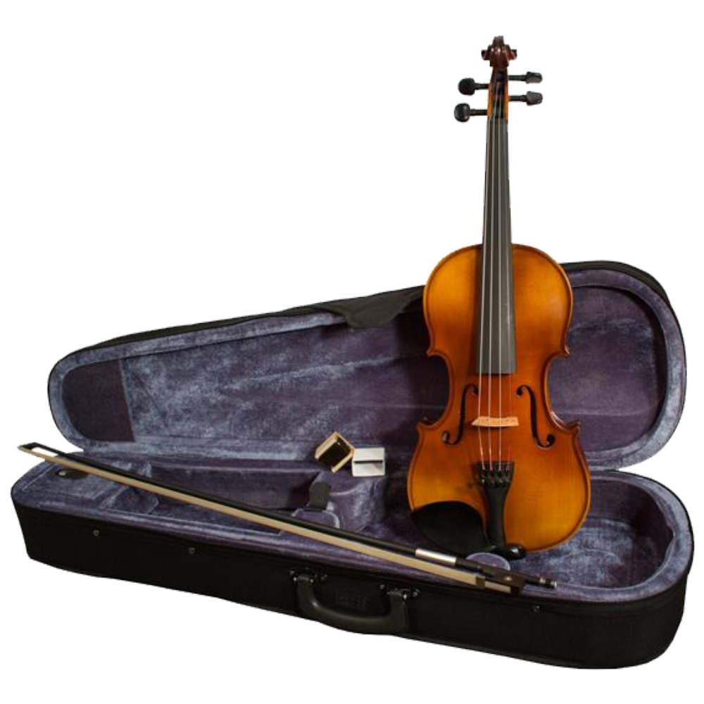 Mathias Thoma Model 30 Violin Outfit 4/4 Size w/ Case & Fiberglass Bow