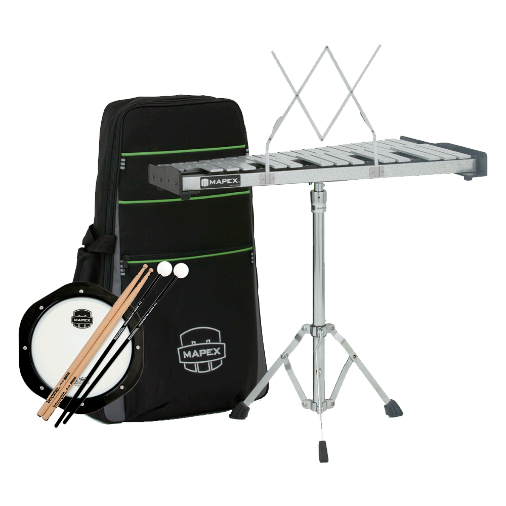 Mapex Bell Kit - Backpack w/ Practice Pad