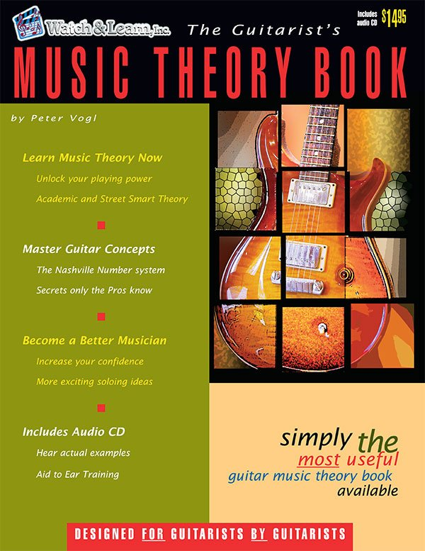 Watch & Learn Guitarist's Music Theory Book