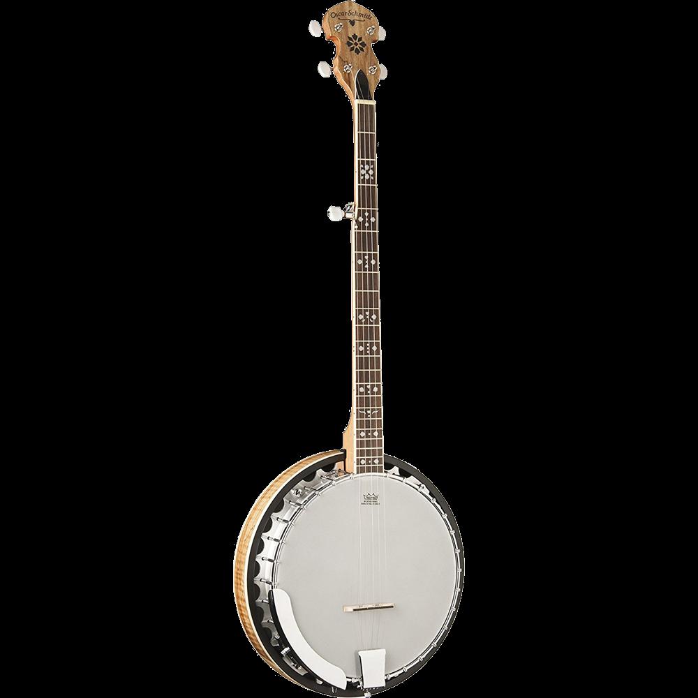 Oscar Schmidt Bluegrass OB5SP 5-String Banjo - Spalted Maple