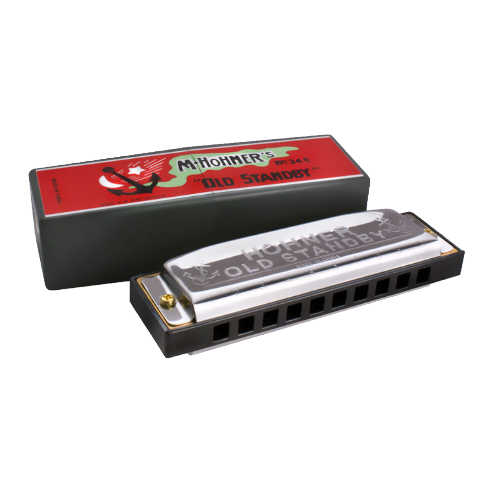 Hohner Old Standby Harmonica (D)