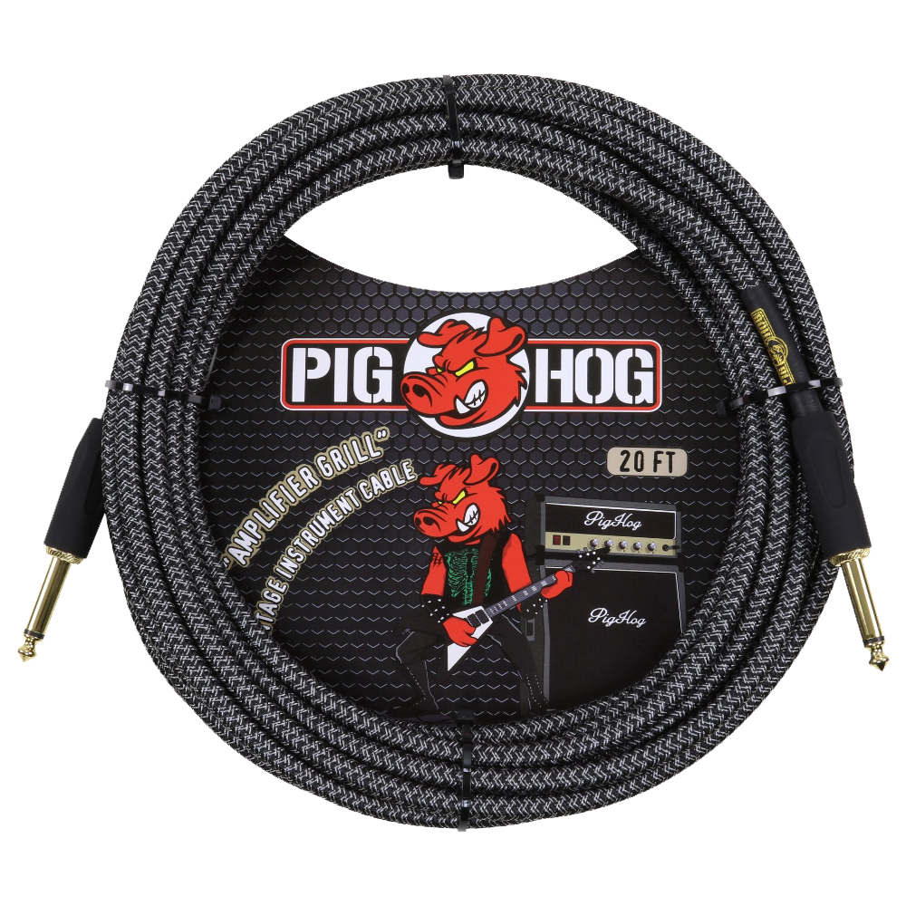 Pig Hog Instrument Cable Amp Grill 20ft