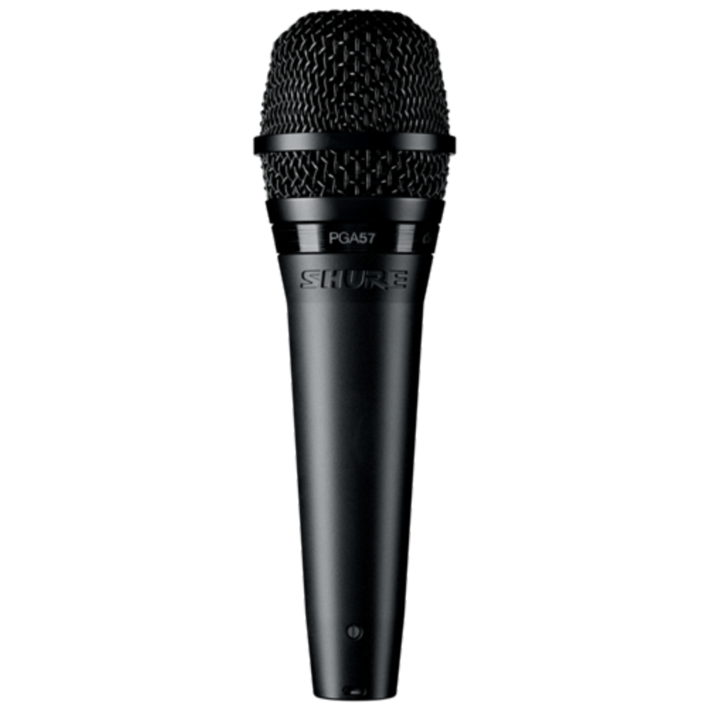 Shure PGA57 Cardioid Dynamic Instrument Microphone - XLR Cable Included