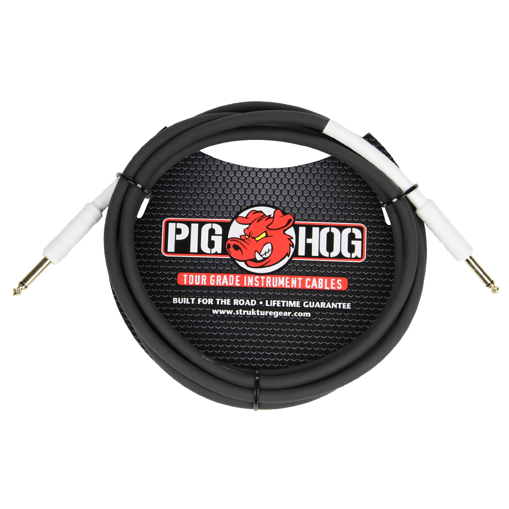 Pig Hog Instrument Cable 8mm 10ft 1/4 - 1/4