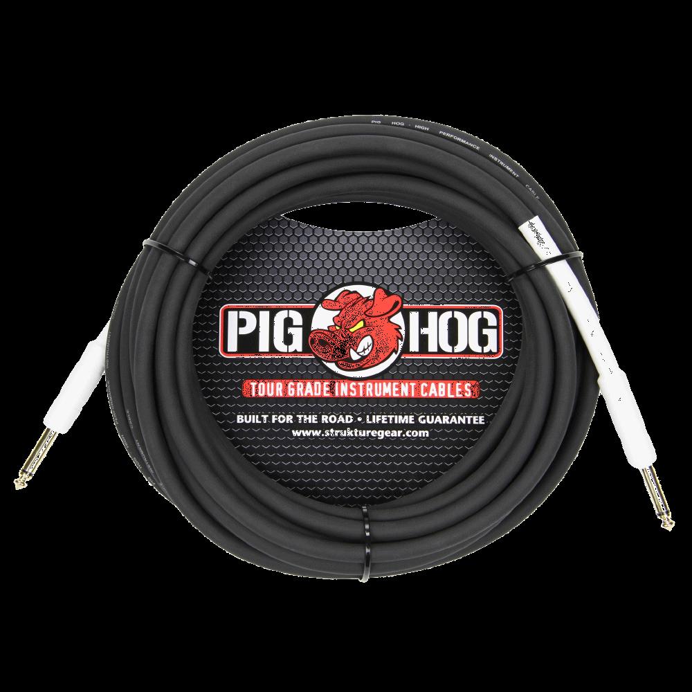 Pig Hog Instrument Cable 8mm 25ft 1/4 - 1/4