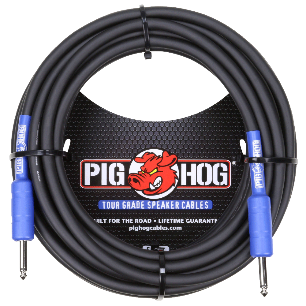 Pig Hog Speaker Cable 9.2mm 50ft (14 Gauge Wire)