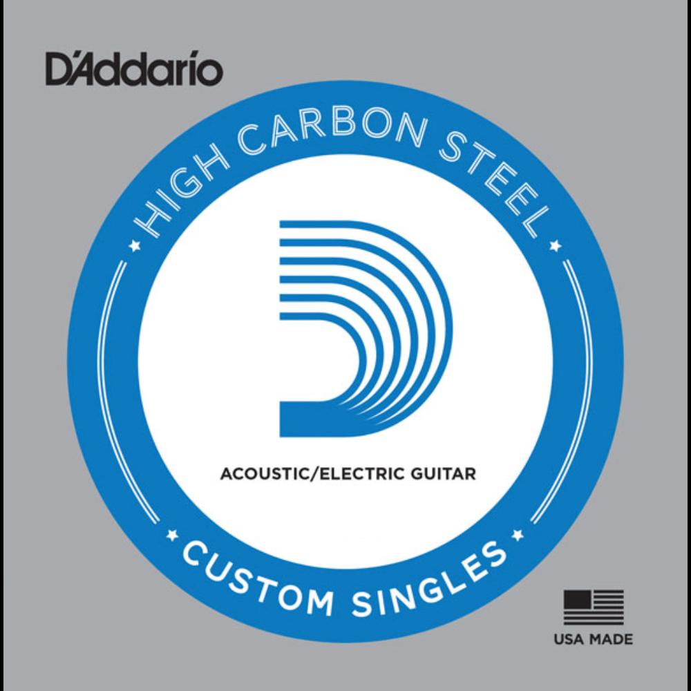D'Addario Plain Steel Single Strings