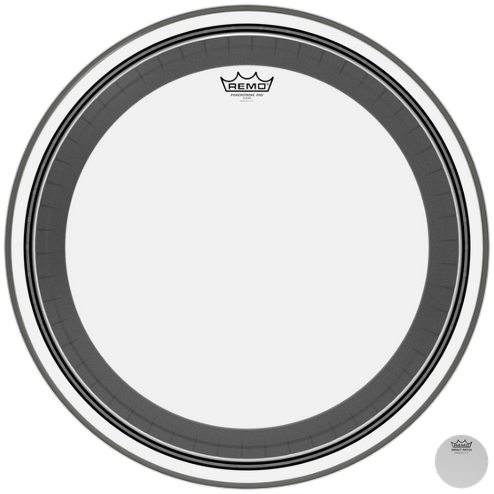 Remo Powerstroke Pro Clear Drumheads