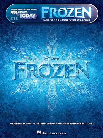 Frozen - Motion Picture Soundtrack - E-Z Play Piano - Softcover