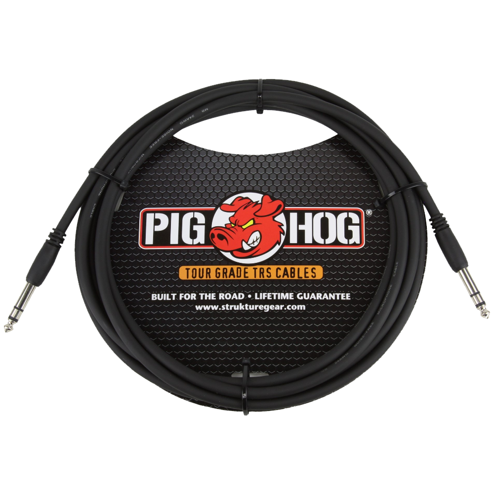 Pig Hog Solutions 1/4 TRS 10ft