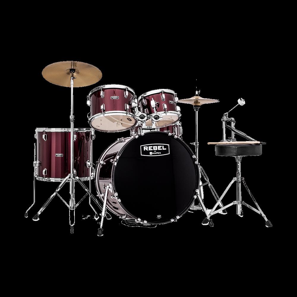 Mapex Rebel RB5294FTC Complete Drum Kit