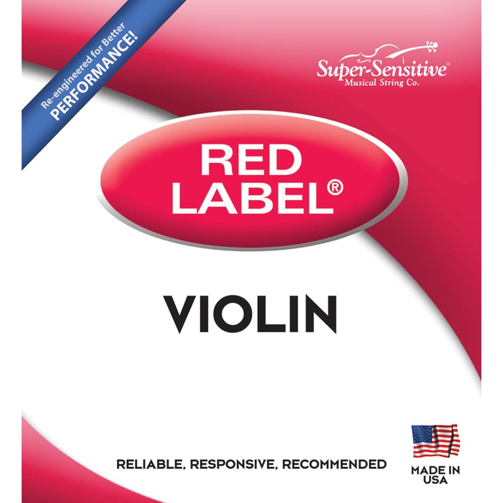 Red Label 1/2 Violin Medium String Set