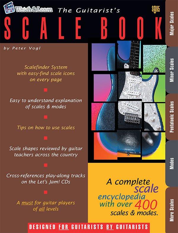 Watch & Learn Guitarist's Scale Book