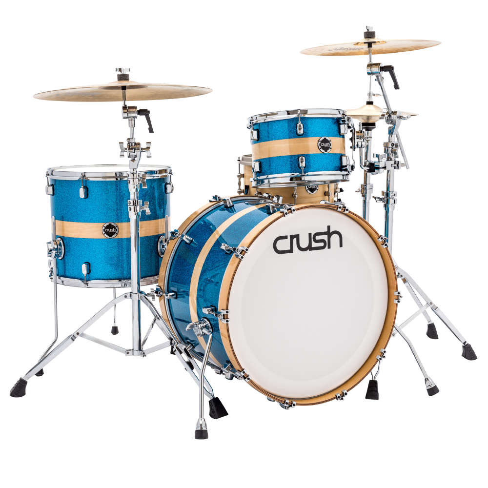 Crush Sublime Birch 22, 12, 16 Shell Pack - Blue Sparkle