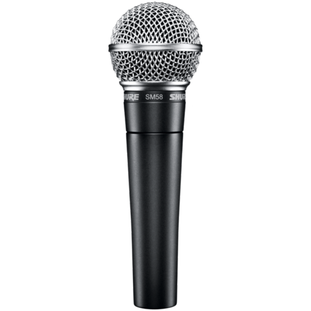 Shure SM58LC Cardioid Dynamic Vocal Microphone - No Cable Included