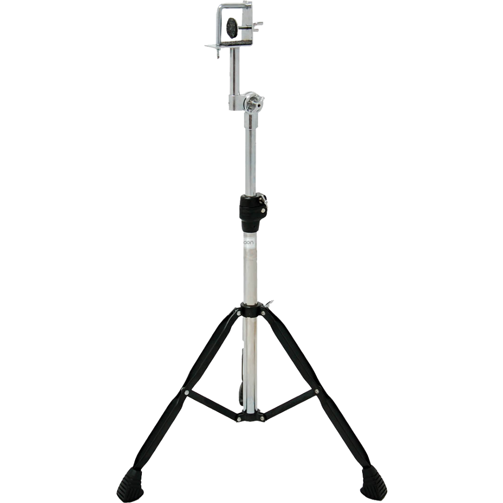 Tycoon Percussion Black Powder-Coated Standard Bongo Stand