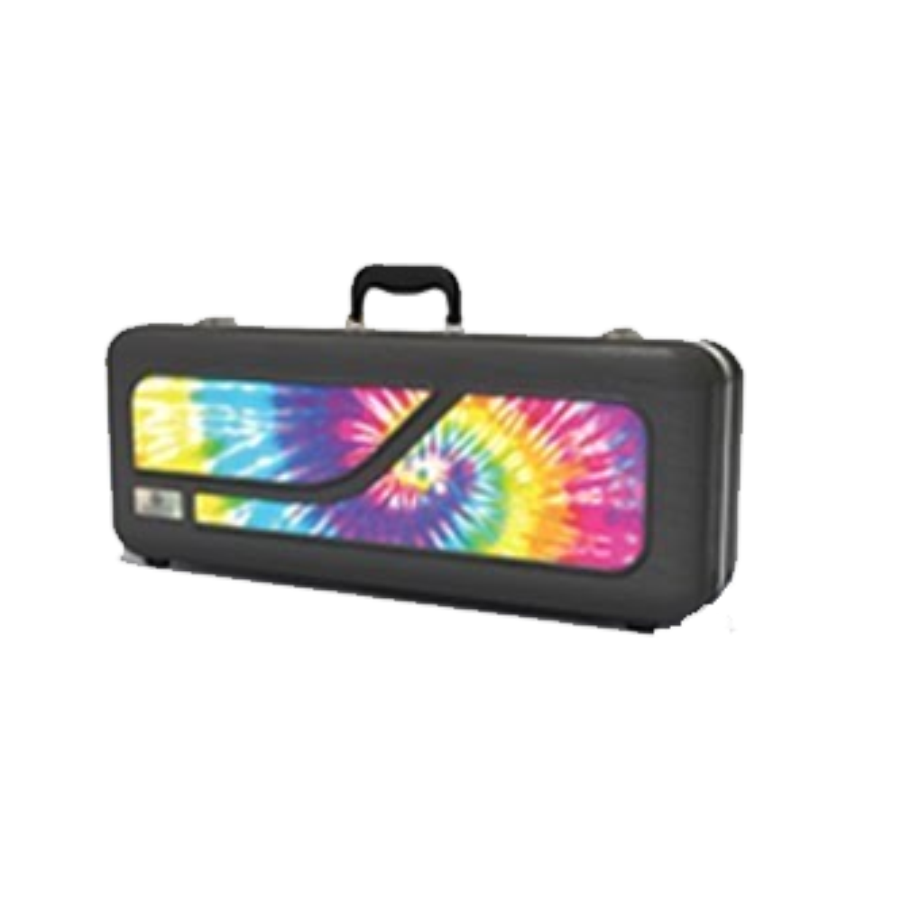 Jupiter MyCase Removable Decal - Clarinet Tie-Dye