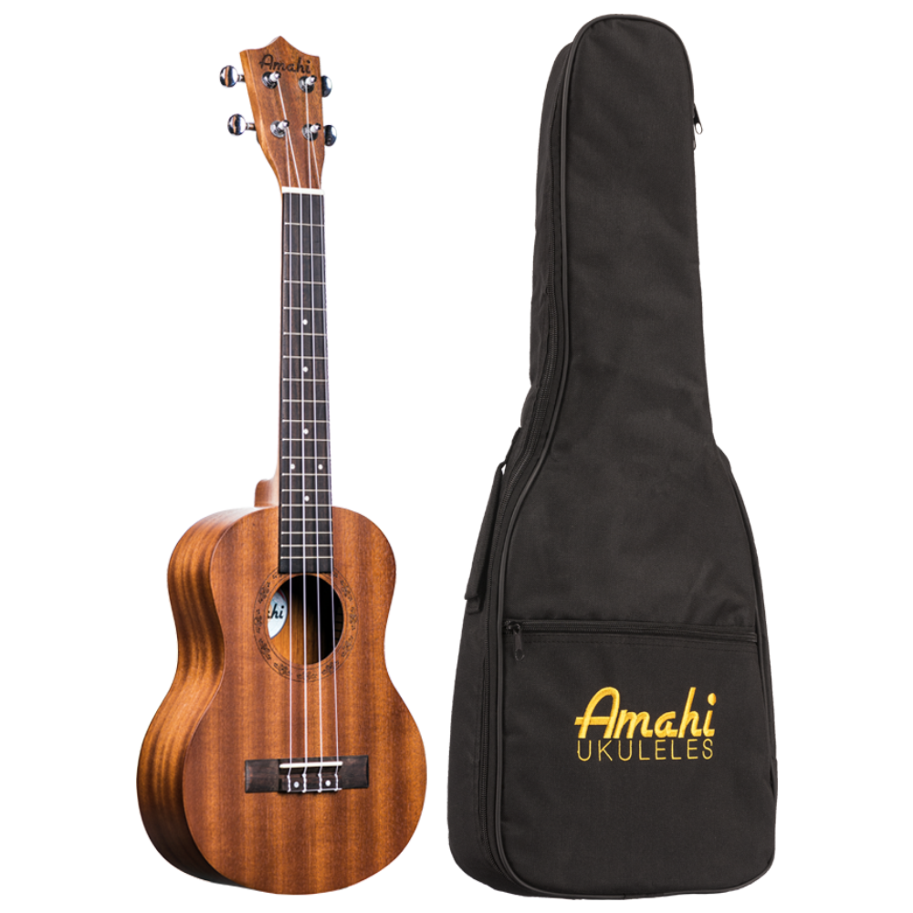 Amahi UK210T Tenor Ukulele w/Deluxe Bag