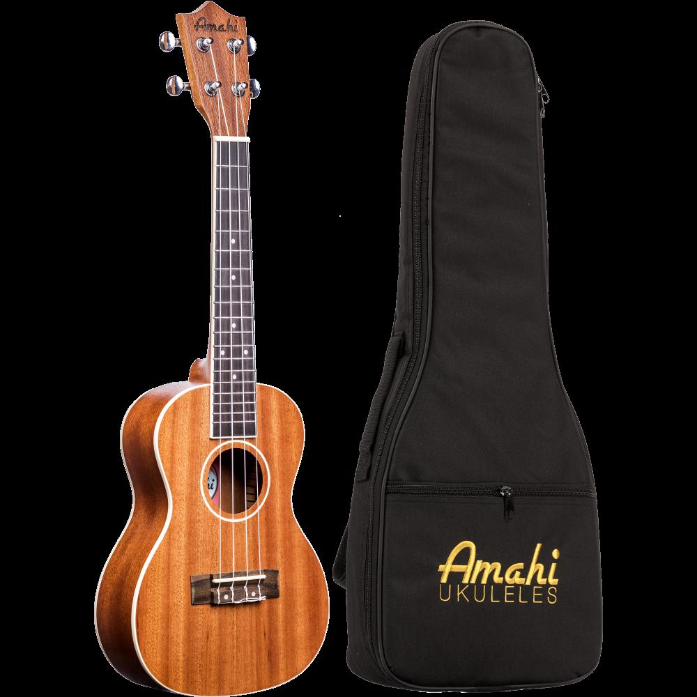 Amahi UK217C Mahogany Series Concert Ukulele