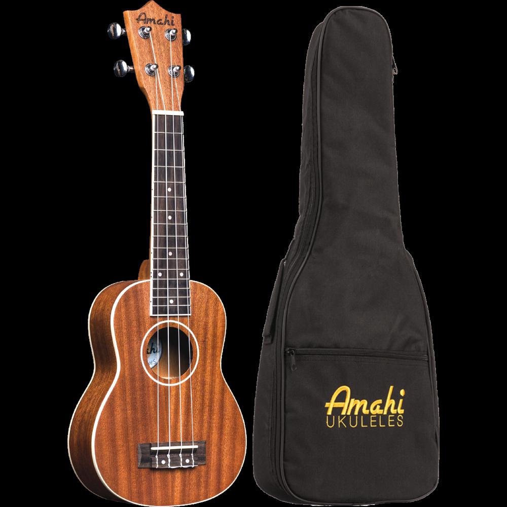 Amahi UK217S Mahogany Series Soprano Ukulele