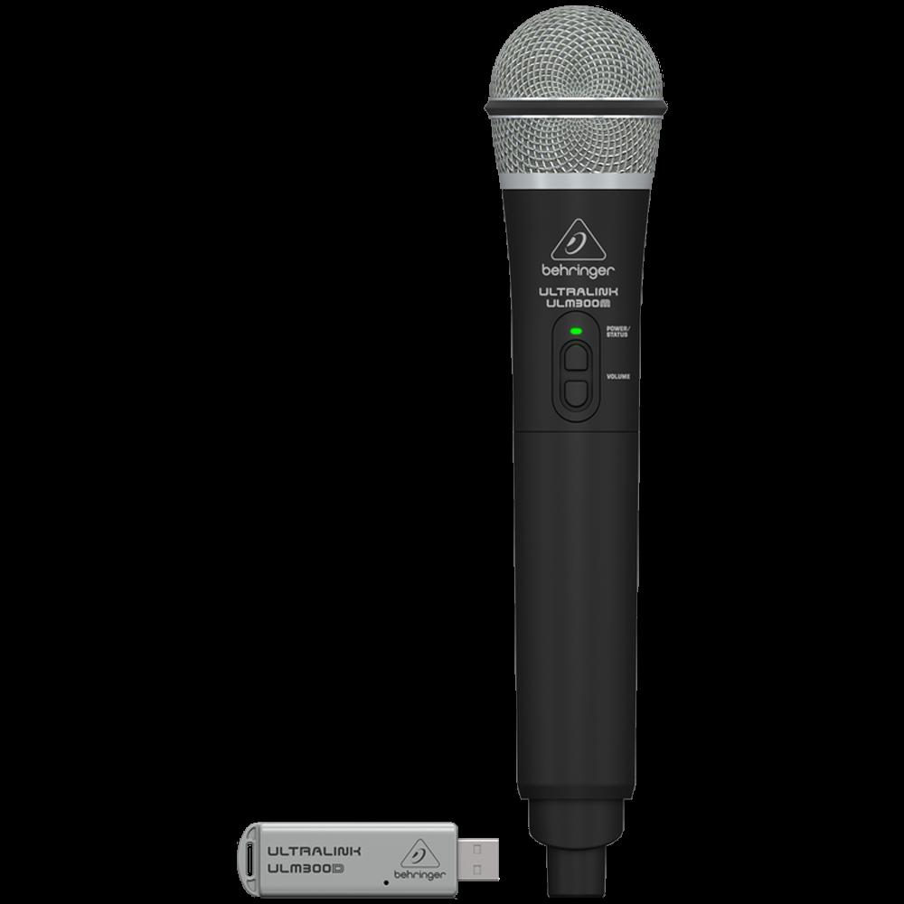 Behringer High-Performance 2.4 GHz Digital Wireless Microphone w/USB Receiver