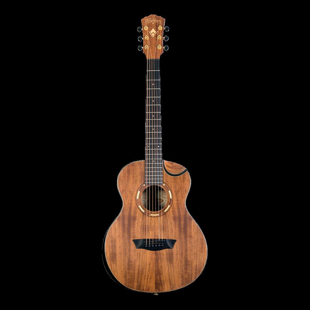 Washburn Comfort G-Mini 55 Koa Acoustic
