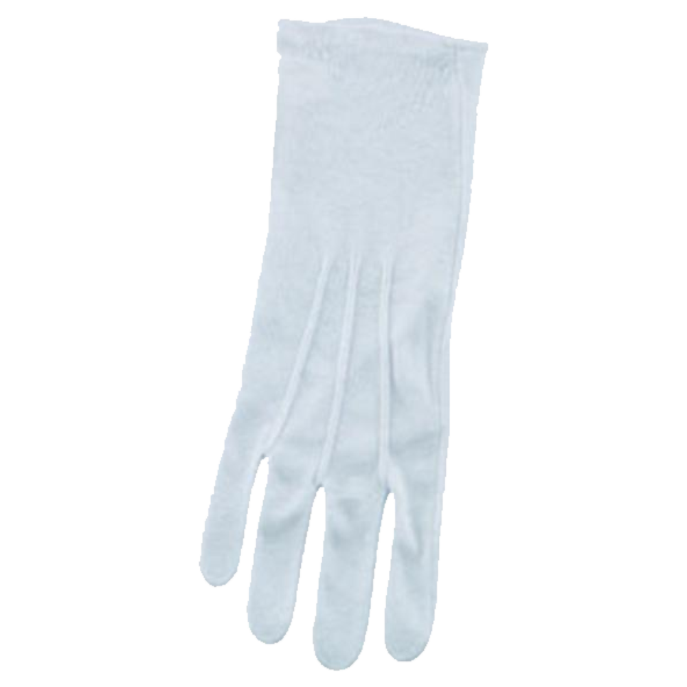 Director's Showcase Cotton White Gloves - Extra Long