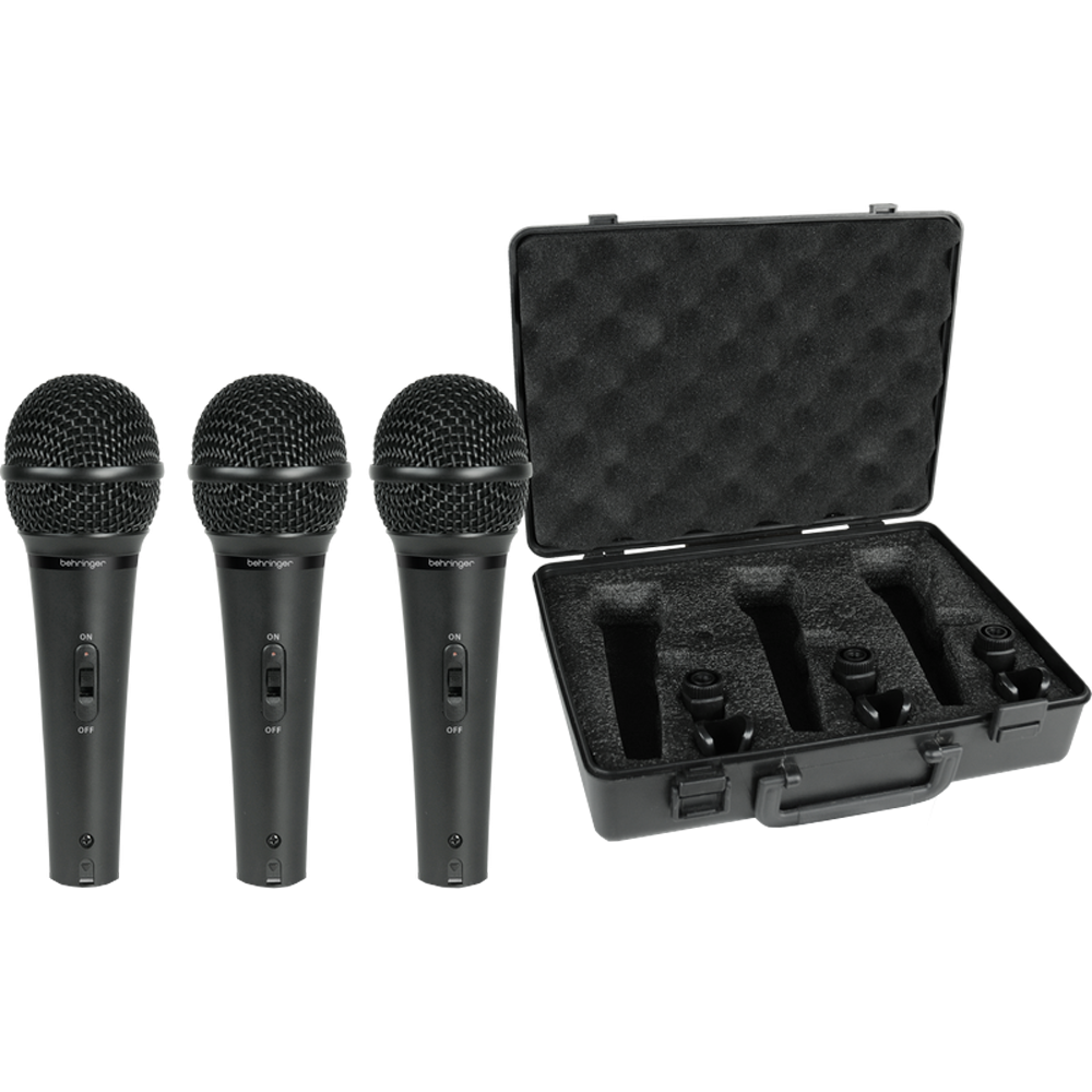 Behringer Dynamic Microphone 3-Pack