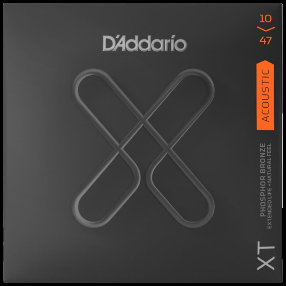 D'Addario XT Acoustic Phosphor Bronze, Extra Light, 10-47