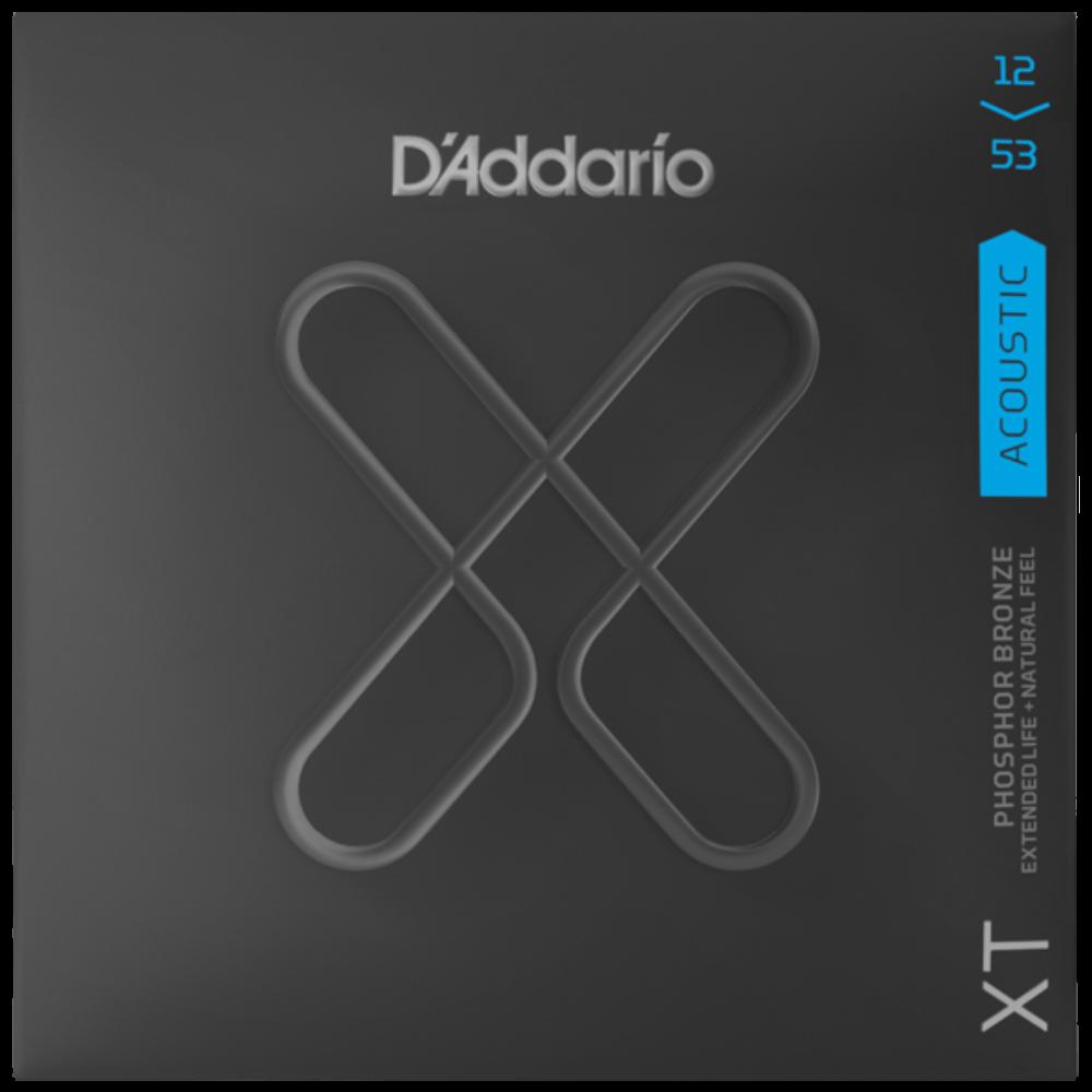 D'Addario XT Acoustic Phosphor Bronze, Light, 12-53